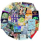 25 Different Rick And Morty Vinyl Stickers POSTER STYLEIndoor Outdoor Use