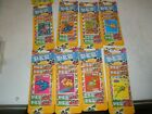 Lot of 8 HTF PEZ Refill Packages 8 in each pack CRUZY