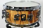 Sonor 14 x 65 Maple Birch Maple Shell One of a Kind Snare Etimoe 18 Ply 10 mm
