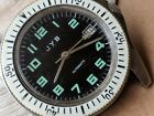 Vintage JYB Divers Watch w/All SS Case,FE 5611 Automatic Mvmt,Runs Strong