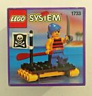 LEGO System - Vintage Shipwrecked Pirate - 1733 - NISB - Sealed Minifigure