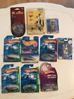 HOT WHEELS LOT  CARDED SMALL TOY LOT RABBIDS LEGO MAGNET 10 items