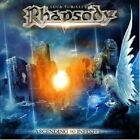 LUCA TURILLI'S RHAPSODY - ASCENDING TO INFINITY  CD + DVD LIMITED EDT NEW+
