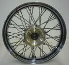HONDA 95-99 VT1100C2 VT1100 SHADOW ACE CHROME FRONT WHEEL SPOKED O
