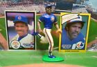 1990  ANDRE DAWSON - Starting Lineup -SLU - Figure & Two  Cards - CHICAGO CUBS