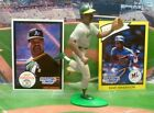 1990  DAVE HENDERSON - Starting Lineup -SLU - Figure & Two  Cards - OAKLAND A'S