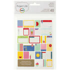Project Life RECIPE 40 PACK Themed Cards scrapbooking 97716 FOOD