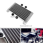 Engine Aluminum Oil Cooler Cooling Radiator Motorcycle Bike Fit for 125CC 250CC