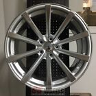19 ECLIPSE STYLE SILVER CONCAVE WHEELS RIMS LEXUS IS250 IS350 IS ES300 ES330