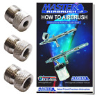 Master Airbrush Brand Fitting Conversion Adapters for Paasche Badger
