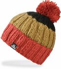 Dakine FARLEY Kids Youth Fleece In-Band Beanie Picante Black NEW Sample