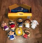 HALLMARK Itty Bittys COMPLETE NATIVITY SET 8 Jesus Mary Joseph Wise Men Angel