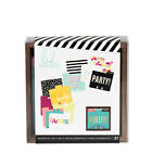 Heidi Swapp MEMORYDEX DESKTOP TRAY with CARDS  DIVIDERS scrapbooking 313031