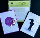 STAMPIN UP SOFTLY FALLING Texture Impressions Embossing Folder BRAND NEW