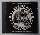PEACE THROUGH CHEMISTRY Alchemy Records Compilation CD 1989 Melvins Neurosis