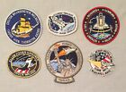 NASA PATCH LOT 6 Space Program  Shuttle STS Mission Patches Challenger + 236