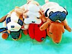 Beanie Baby Lot--6 DOGS Bernie, Weenie, Rover, Doby, Pugsly and Wrinkles
