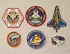 NASA PATCH LOT 6 Space Program  Shuttle STS Mission Spacelab Patches +++ 242