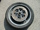 HONDA ST 1300 PAN EUROPEAN - REAR WHEEL WITH BRAKE DISC NON ABS VERSION