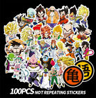 100Pcs Anime Dragon Ball Cartoon Graffiti Stickers Decal For Laptop Home Decor