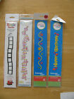 Sizzix Decorative Strips and Ellison Design Extended Cuts U PICK NEW IN PACKAGE