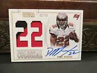 National Treasures Colossal Jersey Autograph Buccaneers Doug Martin 02 10 2013