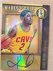 2013-14 Panini Gold Standard Marks Of Gold Kyrie Irving On Card Auto 35 49