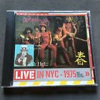 NEW YORK DOLLS Red Patent Leather LIVE NYC 1975 Receiver Records CD RRCD173 1993