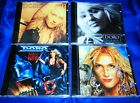 DORO - 4CD Set - Angel Never Die / Doro / Force Majeure / True At Heart