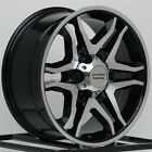 17 Inch Black Wheels Rims Hummer H3 H3T Chevy Colorado GMC Canyon 6x55 6 Lug