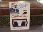 EJ Manuel Signs Exclusive Autographed Memorabilia Deal with Panini Authentic 4