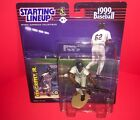 1999 Ken Griffey Jr Kenner Starting Lineup  With Card New