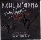 PAUL DI'ANNO Live at the Whiskey - IRON MAIDEN Cliff Evans Tank Autograph SIGNED
