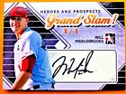 2011 In the Game Heroes and Prospects Series Two Low Numbers Baseball 2