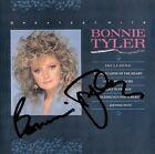 BONNIE TYLER Greatest Hits Total Eclipse of the Heart Heartache Autograph SIGNED