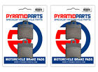 Malaguti Phantom F12R 50 (LC) 07-11 Full Set Front & Rear Brake Pads (2 Pairs)