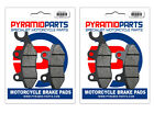 Kymco Yup 250 (W2000) 03-06 Full Set Front & Rear Brake Pads (2 Pairs)