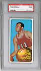 1970 TOPPS #165 CLEM HASKINS *PSA 9* *ROOKIE* *1996 OLYMPIC GOLD MEDAL COACH* RC