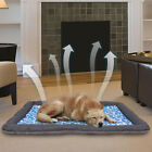 Self Cooling Gel Pet Mat Floor Dog Bed Crate Cool Dog Cushion Pad Indoor Outdoor