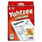 ☆NEW☆ YAHTZEE SCORE PADS REFILL PACK 80 HASBRO BOARD GAME ✔AUTHENTIC ✔SEALED