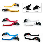 Long Brake Clutch Levers For Kawasaki ZX-6/ZZR600 ZX9R ZXR400 ZZR Z750S ZR USA