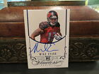 Panini Flawless Blue Autograph Rookie Auto Buccaneers Mike Evans 03 20 2014