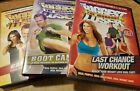 The Biggest Loser DVD Lot Boot Camp Cardio Max  Last Chance Workout