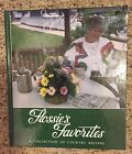 FLOSSIES FAVORITES By Johnson Flossie Hardcover Signed Copy 1992 Cook Book