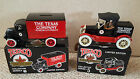 2 Texaco Truck Banks #5 & 6 Ford Runabout & Mack Bull Dog Lubricant in Box ~