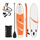 10 Inflatable SUP Stand Up Paddle Board + Board Fin + Pump + Paddle + Bag