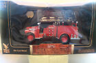 Yat Ming Road Signature 1941 GMC Firetruck 124 Scale w 24K Gold Plated Coin