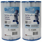 2 UNICEL C 4335 Hayward Replacement Swimming Pool Filters C4335 FC 2385 PRB35