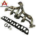 Exhaust Manifold & Gasket Kit for Grand Cherokee Wrangler 4.0L Stainless Steel