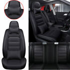 Us Luxury Pu Leather Car Seat Covers Front Rear Seat Cover Cushion All Seasons